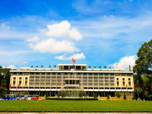 Kiến trúc ấn tượng của Dinh Thống Nhất, Tp Hồ Chí Minh
