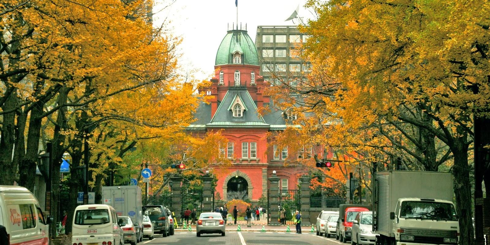 Ngắm cảnh mùa thu Nhật Bản