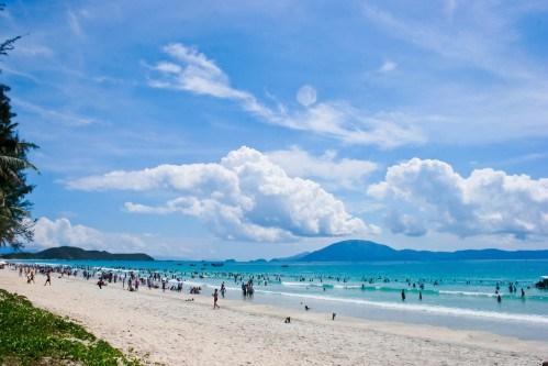 Bãi biển đẹp Việt Nam, bãi biển đẹp miền Bắc, bai bien dep VN, bai bien dep mien Bac, bãi biển Hồng Vân, biển Trà Cổ, Bãi Cháy Quảng Ninh,