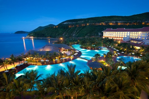 Các khu resort đắt tiền vẫn cháy phòng trong dịp lễ Tết Dương lịch