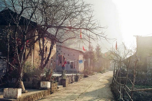 Khu phố cổ Đồng Văn - điểm du lịch hấp dẫn Hà Giang.