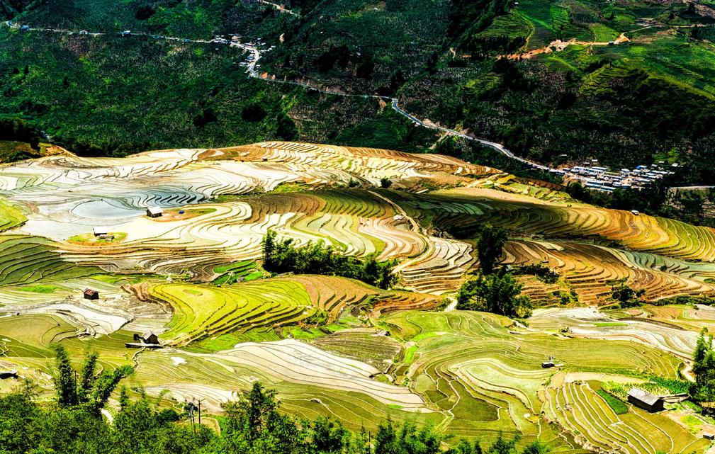 Mùa nước đổ Hà Giang.