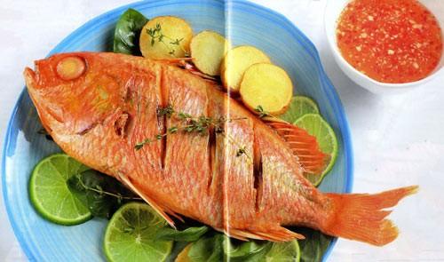 Đặc sản Cát Bà - cá hồng và cá giò