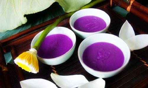 Chè khoai tía - Đặc sản, món ngon ở Huế.