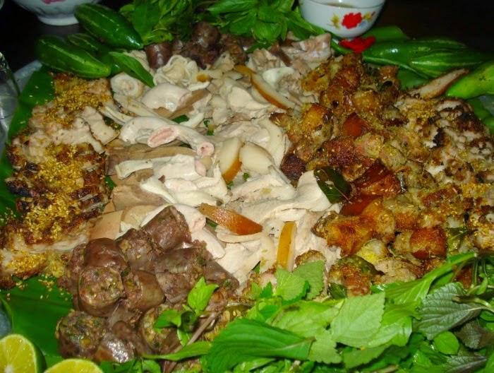 Lợn mán, món ngon của Mai Châu.