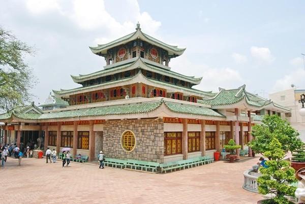 Chùa Xứ, núi Sam - An Giang
