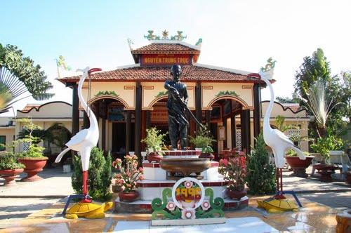 Đền thờ Nguyễn Trung Trực.