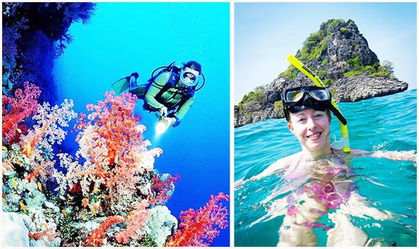 Lặn ngắm san hô ở Hòn Thơm phú quốc - Những điều phải thử ở Phú Quốc.