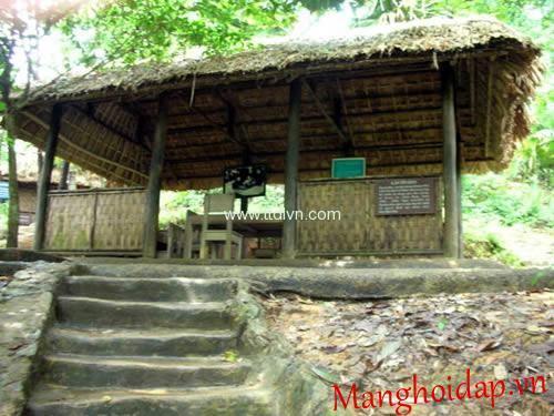 Khu di tích lịch sử ATK Bắc Kạn thuộc quần thể di tích Việt Bắc