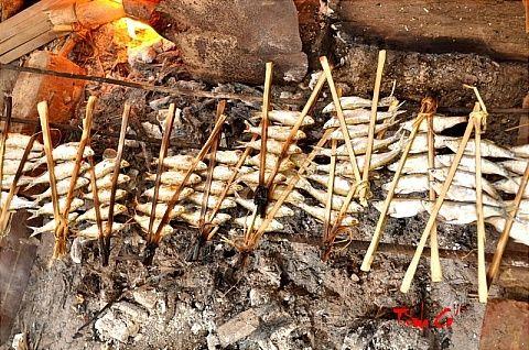 Đặc sản Bắc Kan -Cá nướng Ba Bể