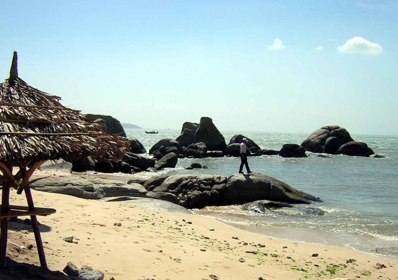 Biển Cà Ná luôn là điểm dừng chân hấp dẫn của du khách.
