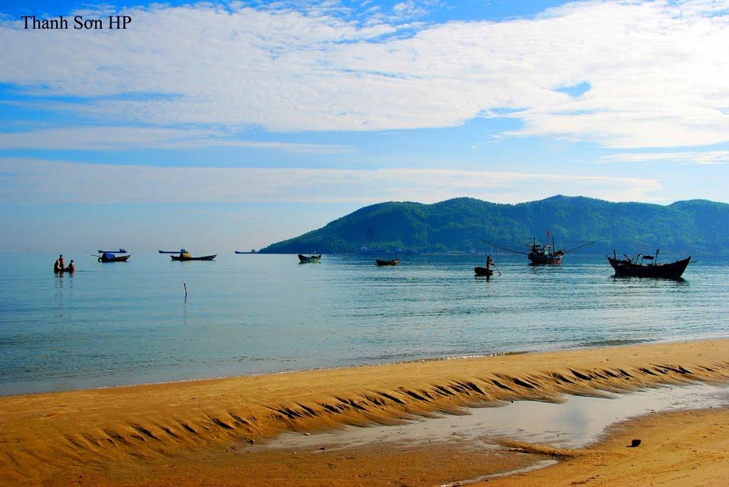 Biển Cảnh Dương buổi sớm