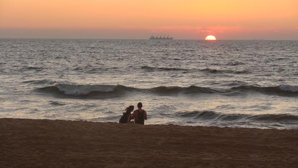 Vẻ đẹp thơ mộng trên bãi biển Nha Trang