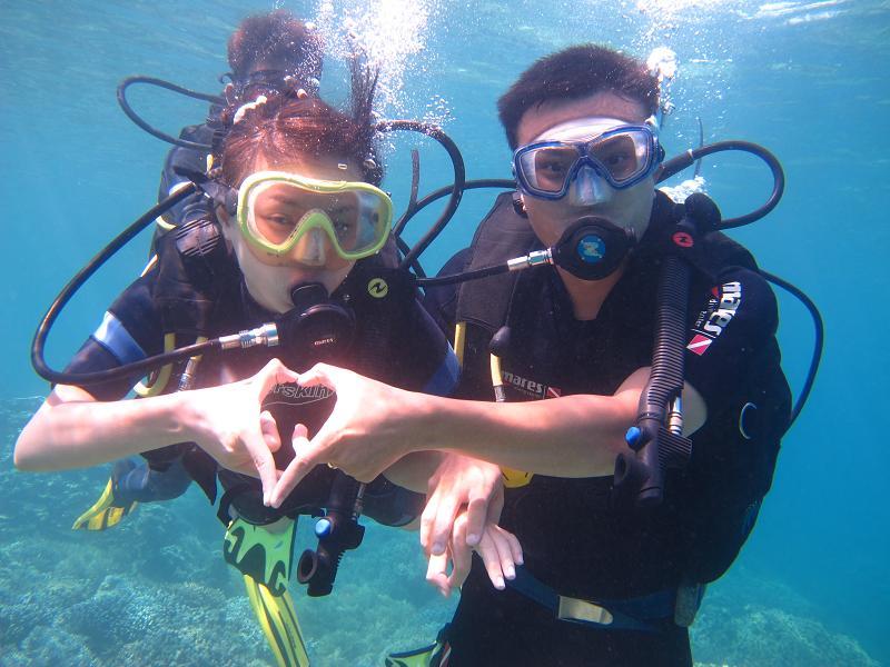 Lặn biển ở Hòn Mun Nha Trang.