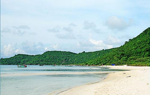 Bãi biển yên tĩnh