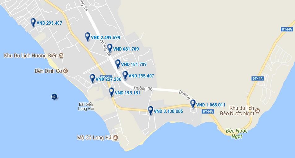 Khách sạn ở Long Hải.