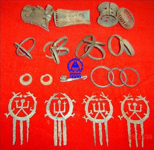 Khảo cổ tìm thấy ở Bàu Tró