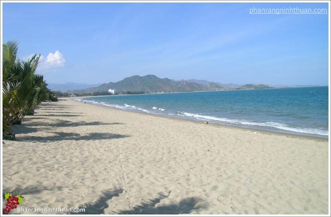 Một thoáng Ninh Chữ với biển xanh - cát trắng - nắng vàng.