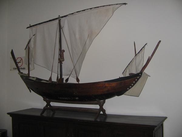 Mô hình tàu buồm