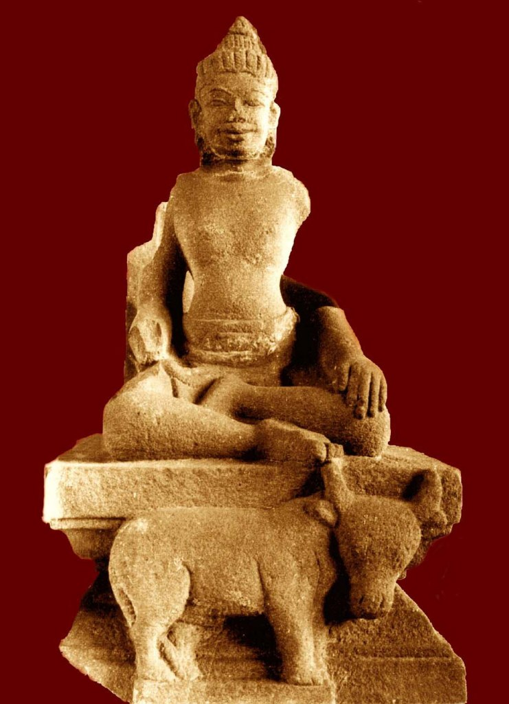 Một bức tượng đá khác