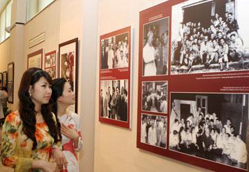 Bảo tàng thu hút cả khách trong nước lẫn ngoài nước đến tham quan