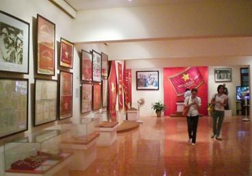 Nơi trưng bày những bức ranh thời chiến