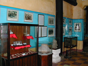 Một góc trưng bày của bảo tàng Lịch Sử Văn Hóa Hội An