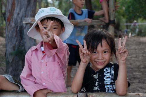 Trẻ em ở Quy Hòa