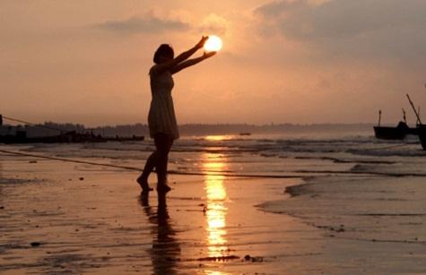 Mặt trời trong tay