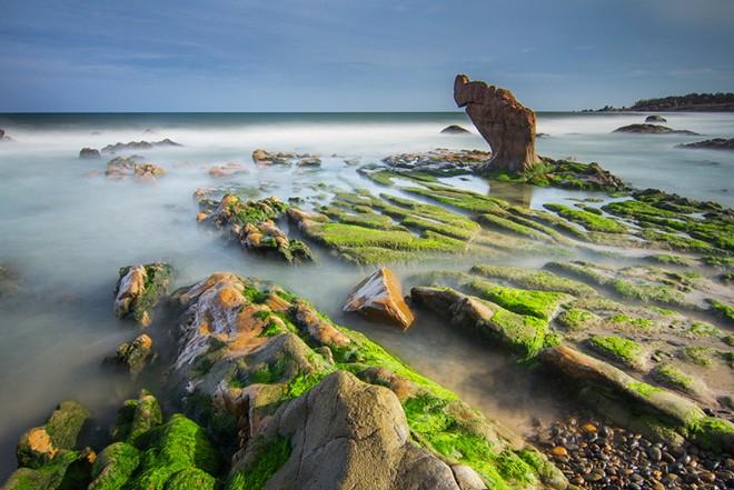 Cảnh đẹp như cổ tích ở biển Cổ Thạch