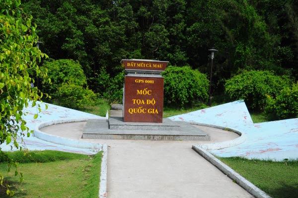Lịch trình tham khảo Khám phá Cà Mau 1 ngày: 6h30 – 11h, Tham quan mũi Cà Mau và mốc tọa độ Quốc Gia