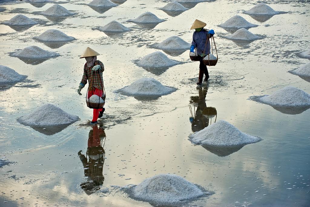 Cuộc sống bình dị trên đảo Thạch An.
