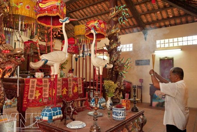 Đình Chánh Tân Kim được ghi nhận là một trong những thành tố của thiết chế văn hóa làng xã truyền thống.