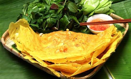 Món ngon ở Tiền Giang: Bánh xèo nam bộ.