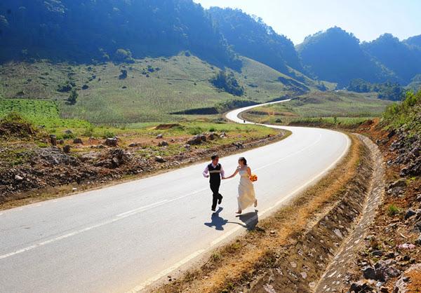 Cung đường chữ S - điểm chụp hình đẹp tại Mộc Châu.