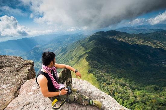 Đỉnh núi Pha Luông - điểm chụp hình đẹp tại Mộc Châu.