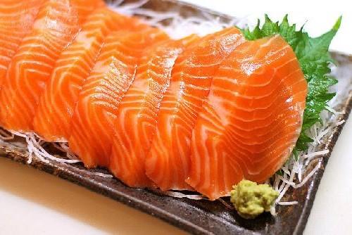 Cá Hồi - đặc sản Mộc Châu.