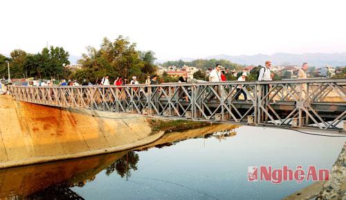 Cầu Mường Thanh - Điểm đến hấp dẫn Điện Biên