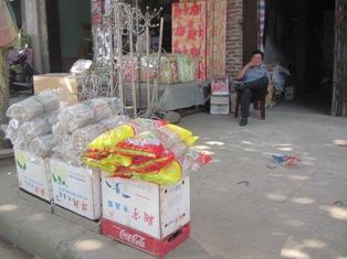 Miến dong Bình Liêu được bày bán trong mỗi dịp chợ phiên