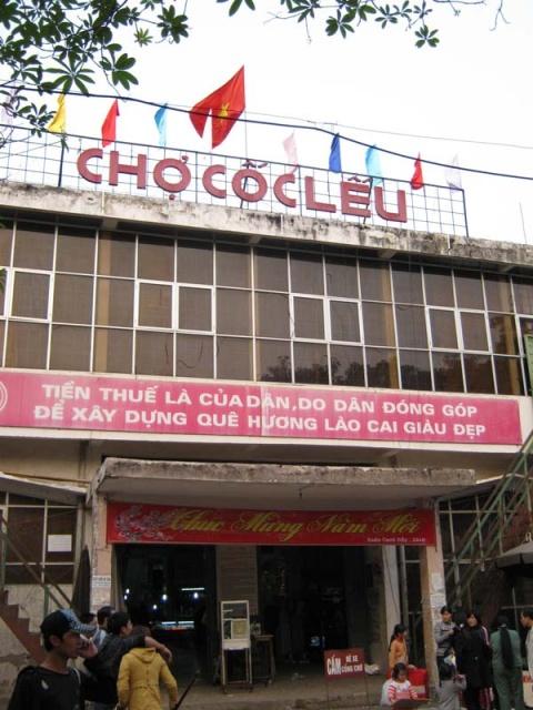 Chợ Cốc Lếu Lào Cai