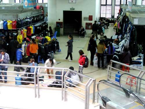 Thành phố Móng Cái là nơi trực tiếp diễn ra các hoạt động trao đổi thương mại kinh tế