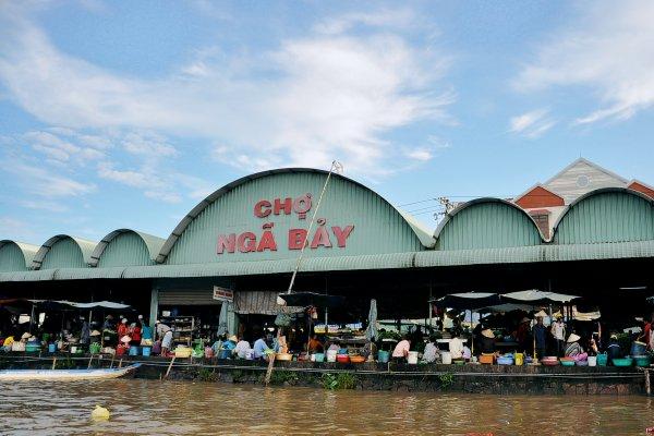 Chợ nổi Ngã Bảy, Hậu Giang