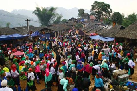 Khâu Vai thuộc huyện Mèo Vạc - Điểm du lịch hấp dẫn ở Hà Giang