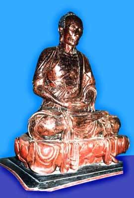 Tượng Tuyết Sơn - tượng gỗ thế kỷ 17