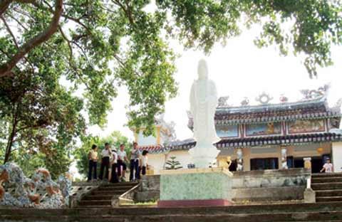Ngôi chùa gắn với tên tuổi Trần Cao Văn
