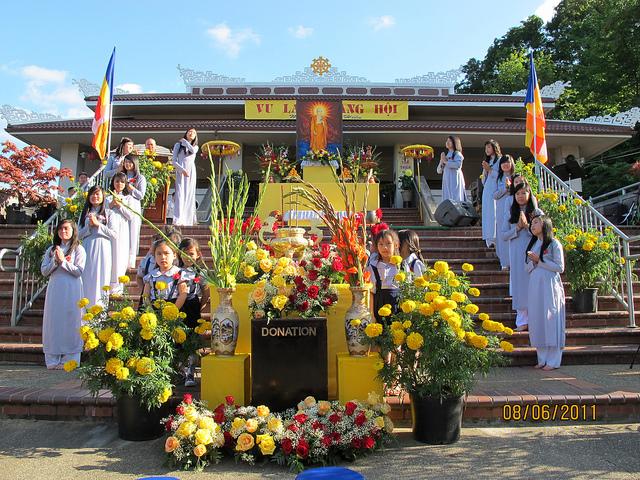 Vu Lan mùa báo hiếu tại chùa Cổ Lâm