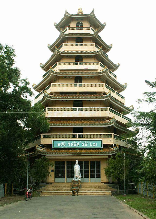 Bửu tháp Xá Lợi tại Tổ đình Giác Lâm