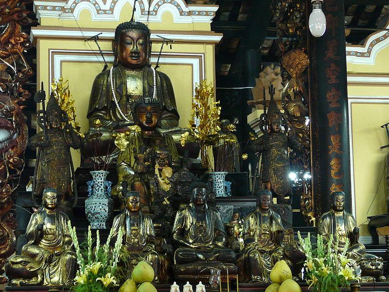 Những pho tương Phật quý tại Tổ đình Giác Lâm