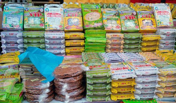 Đặc sản chùa Hương - Bánh củ mài.