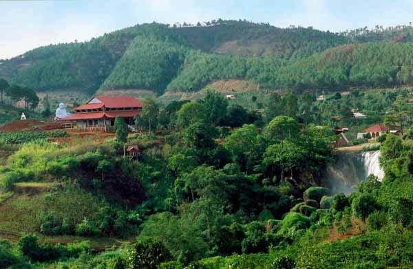 Vùng đất- nơi xây dựng chùa Linh Ẩn